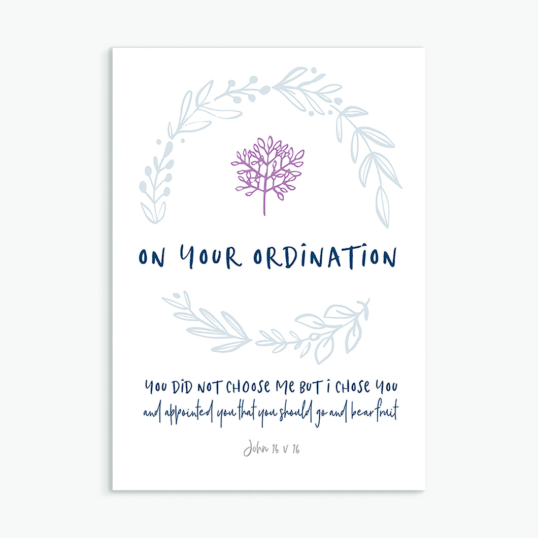 On Your Ordination greeting card