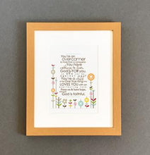 Load image into Gallery viewer, 'Overcomer' (flowers) by Emily Burger - Framed Print