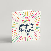 Load image into Gallery viewer, 'Praying For You' Greeting Card & Envelope