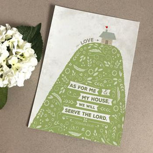 'As For Me And My House' (Hill) by Emily Burger - Print