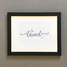 Load image into Gallery viewer, 'So Loved' by Preditos - Framed Print