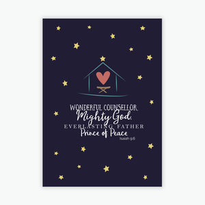 Christmas Card Packs - Star and Stable A6 size (2020)