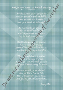 A Scottish Blessing (short version) Print