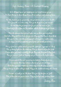 A Scottish Blessing - Safe Journey Home in Scots (full version) Print