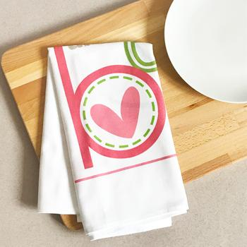 Beautiful by Emily Burger - Tea Towel