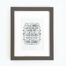 Load image into Gallery viewer, 'Trust in the Lord' by Emily Burger - Framed Print