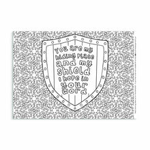 Load image into Gallery viewer, 7 Bible Verse Colouring Sheets For Anxious Times