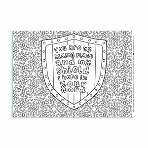 7 Bible Verse Colouring Sheets For Anxious Times