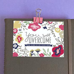 'You Will Overcome' by Emily Burger - Mini Card