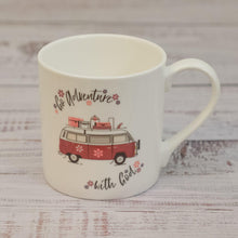 "Load image into Gallery viewer, ""Go Adventure"" fine bone china mug"