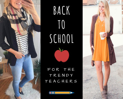 Back To School Style Guide: Trendy Teachers