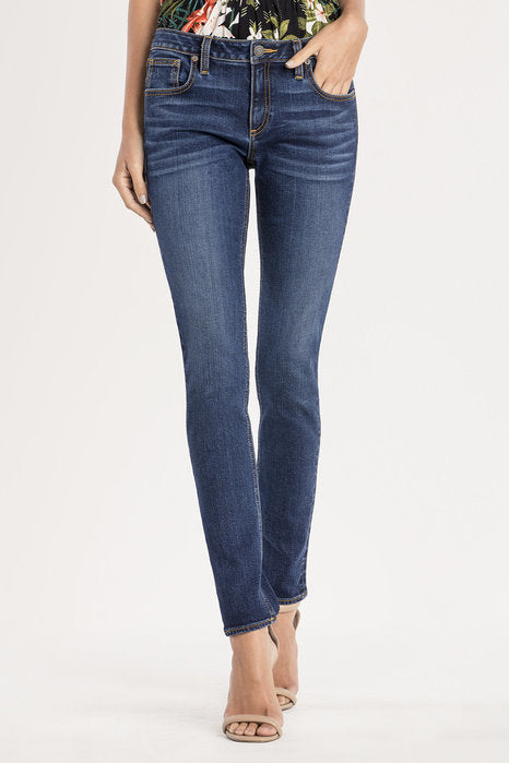 THE ESSENTIAL MID-RISE SKINNY JEANS MISS ME