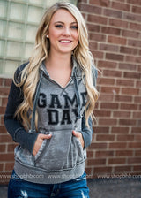 Game Day Colorblock Hoodie, CLOTHING, BAD HABIT APPAREL, BAD HABIT BOUTIQUE