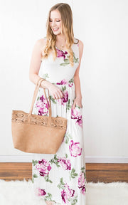 Floral Maxi Dress, SALE, vendor-unknown, badhabitboutique