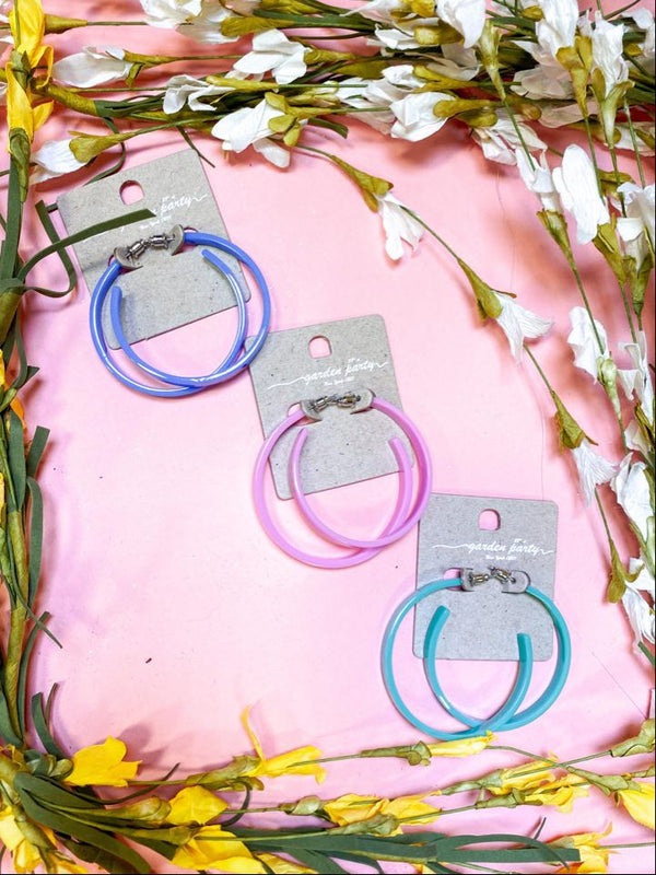80'S Flashback Hoop Earrings, JEWERLY, JOIA, BAD HABIT BOUTIQUE