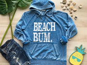 Beach Bum Hoodie - Vintage Royal, BEACH, GRAPHICS, BAD HABIT BOUTIQUE