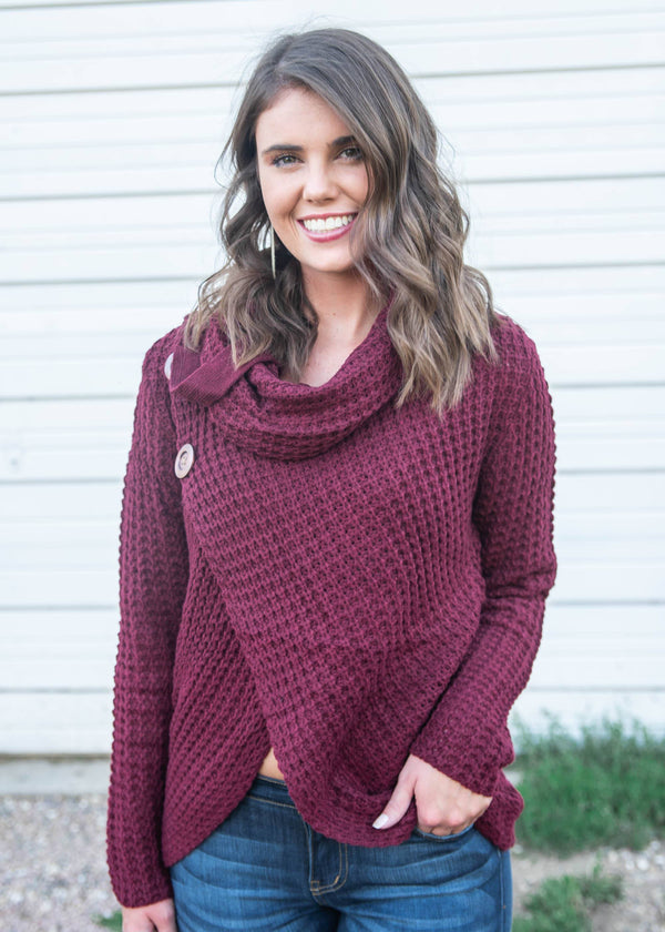 Cross Front Sweater - Miracle, CLOTHING, MIRACLE, BAD HABIT BOUTIQUE