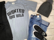 Wanted and Wild Graphic Tshirt