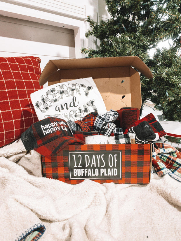 12 Days of Buffalo Plaid Christmas Gift Box | PREORDER SHIPS OCTOBER 28TH