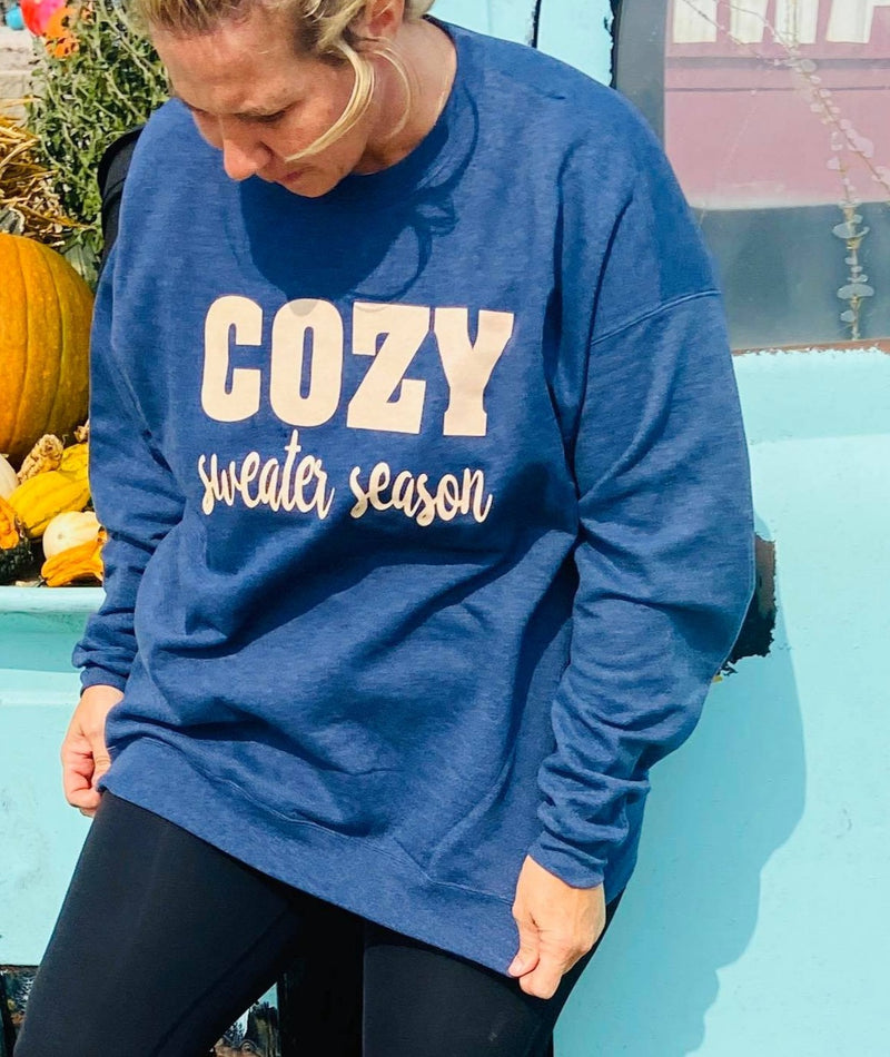 Cozy Sweater Season Sweatshirt, CLOTHING, Bad Habit Appareal, BAD HABIT BOUTIQUE