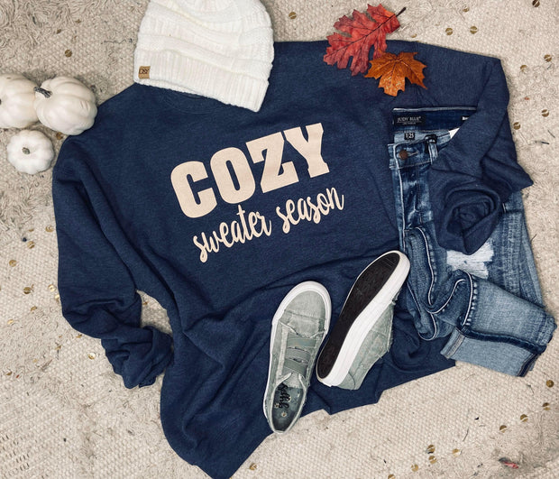Cozy Sweater season sweatshirt