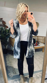 Tie Dye Fly Away Cardigan | FINAL SALE, CLOTHING, HEMISIH, BAD HABIT BOUTIQUE