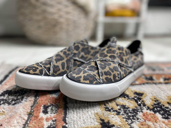 Ivette Leopard Slip On Sneaker - Very G, SHOES, very g, BAD HABIT BOUTIQUE