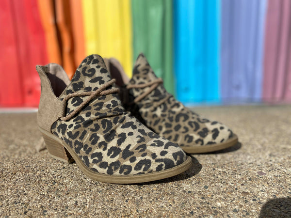 Spartan Leopard Bootie - Very G, SHOES, VERYG, BAD HABIT BOUTIQUE