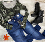 Camouflage Bodysuit, CLOTHING, A.Gain, BAD HABIT BOUTIQUE