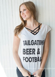 TailGating, Beer & Football Tank