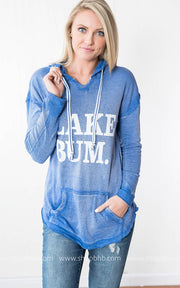 Lake Bum Hoodie |Blue, LAKE, vendor-unknown, badhabitboutique