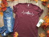 Coffee LifeLine T-Shirt, CLOTHING, BAD HABIT APPAREL, BAD HABIT BOUTIQUE