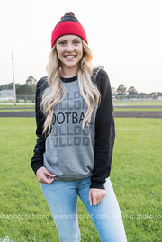 Bulldog Football Sweater, GAMEDAY, vendor-unknown, BAD HABIT BOUTIQUE