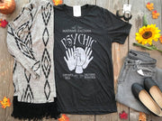 Madame Zaltana Psychic Tee | Charcoal, WHAT'S NEW, vendor-unknown, badhabitboutique