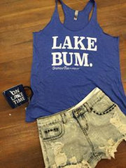 LAKE BUM Tank Top Royal, COLLECTIONS, GRAPHICS, badhabitboutique