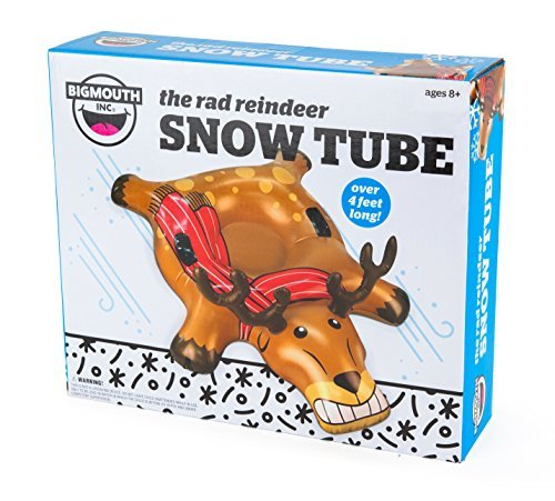 Big Mouth- the rad reindeer snow tube, WHAT'S NEW, vendor-unknown, BAD HABIT BOUTIQUE