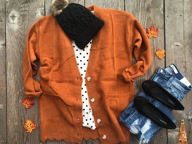 Grandpa's  Over-sized Sweater | Caramel, CARDIGANS, vendor-unknown, badhabitboutique
