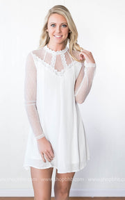 Cherish the Thought Lace Dress, SALE, HyFve, badhabitboutique