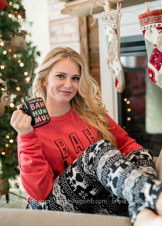 Bah Hum Mug, GIFTS, SALE, BAD HABIT BOUTIQUE