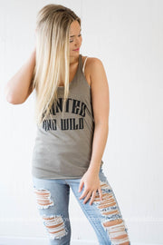 Wanted & Wild Tank - ven grey