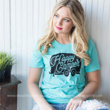 Happy Camper T-Shirt | Unisex Fit, CLOTHING, BAD HABIT APPAREL, BAD HABIT BOUTIQUE