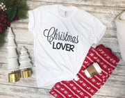 CHRISTMAS LOVER TEE, CHRISTMAS, BAD HABIT APPAREL, badhabitboutique