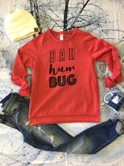 BAH HUM BUG  9575, CHRISTMAS, GRAPHICS, badhabitboutique