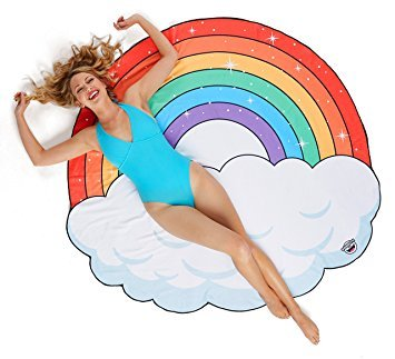 Rainbow Beach Blanket | BigMouth
