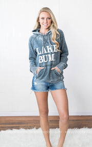 Lake Bum Hoodie || Vintage Navy, LAKE, vendor-unknown, badhabitboutique