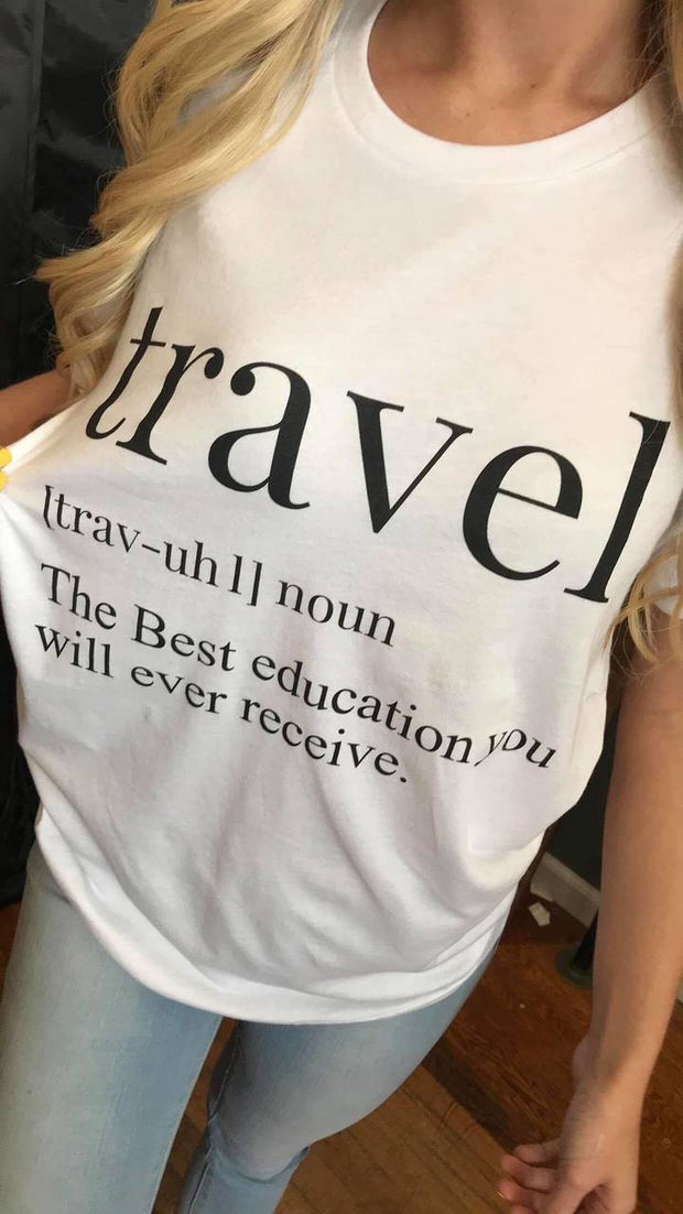Travel Defined Unisex Tee