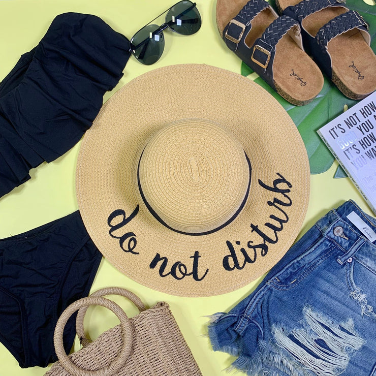 Do Not Disturb Sun Hat | FINAL SALE