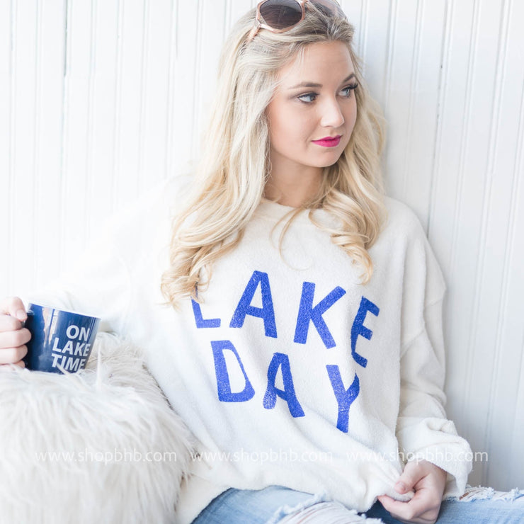 So Soft Lake Day Sweater - oatmeal