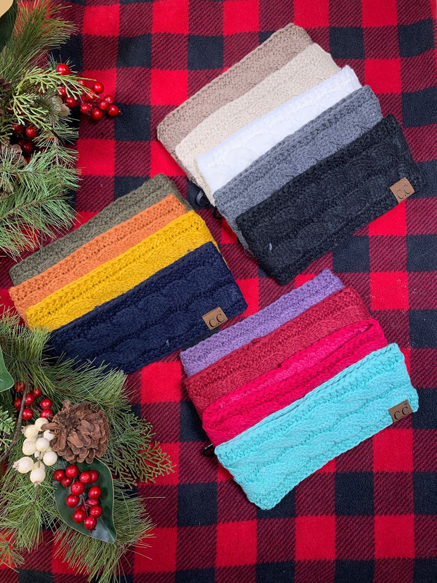 Holiday Deal -  Sherpa CC Headband
