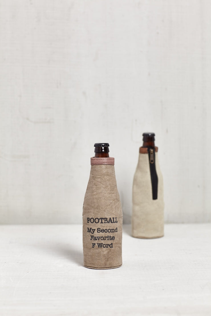 Football Canvas Koozie, GIFTS, vendor-unknown, badhabitboutique